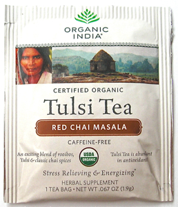 Red Chai Masala Tulsi Tea